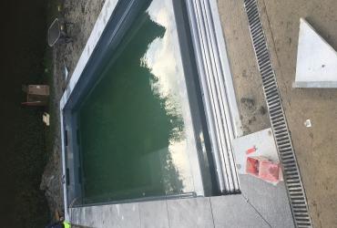 Zwembad Veurne Cube 80 Graphite Grey